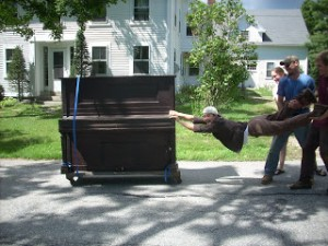You need two men for your piano moves. Don't trust just one!